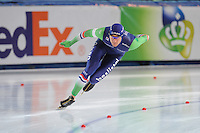 SPEED SKATING: STAVANGER: Sørmarka Arena, 31-01-2016, ISU World Cup, 1000m Men Division A, Thomas Krol (NED), ©photo Martin de Jong