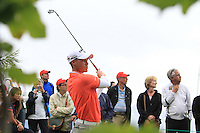 Danny Willett (ENG) on the 10th during the final day of the Omega European Masters, Crans-Sur-Sierre, Crans Montana, Switzerland.4/9/11.Picture: Golffile/Fran Caffrey..