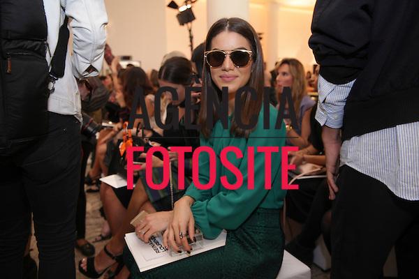 Camila Coelho<br /> <br /> <br /> Reinaldo Louren&ccedil;o<br /> <br /> S&atilde;o Paulo Fashion Week- Ver&atilde;o 2016<br /> Abril/2015<br /> <br /> foto: Midori de Lucca/ Ag&ecirc;ncia Fotosite