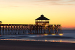 Folly Beach Pier Sunrise 10-30-10