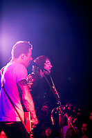 Tim Lopez, Tom Higgenson of the Plain White T's in concert in Yokosuka Japan