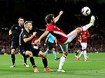Juan Mata of Manchester United in action during the UEFA Europa League match at Old Trafford Stadium, Manchester. Picture date: September 29th, 2016. Pic Matt McNulty/Sportimage