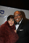 Another World's Linda Dano (and all three ABC shows) poses with Sean Ringgold on March 21, 2013 at the HeartShare 25th Annual Spring Gala and Auction at the New York Marriott, NYC, NY.  (Photo by Sue Coflin/Max Photos)