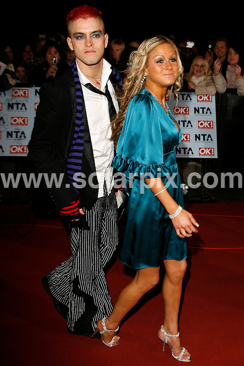 "ALL ROUND PICTURES FROM SOLARPIX.COM.""MUST CREDIT SOLARPIX.COM OR DOUBLE FEE WILL BE CHARGED"".Pete Bennett and Nikki Grahame arrive to watch Trevor McDonald present the star studded 12th National Television Awards held at the Royal Albert Hall, in London tonight.  The show broadcasts on ITV1, on 1st of November...DATE: 31/10/2006-JOB REF: 2999-PRS."