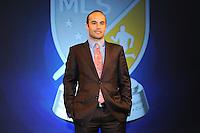 Philadelphia, PA. - January 15, 2015: MLS SuperDraftL 2015 Landon Donovan Tribute event at the Pennsylvania Convention Center.