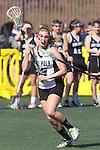 Santa Barbara, CA 02/18/12 - Kendra Keenan  (Cal Poly SLO #3) in action during the 2012 Santa Barbara Shootout.  Colorado defeated Cal Poly SLO 8-7.