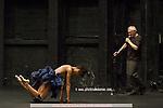 VESTIS..Choregraphie : DELAUNAY Raphaelle..Lumiere : DELPORTE Jerome..Costumes : DELABRE Agathe, DELAUNAY Raphaelle..Avec :..DELAUNAY Raphaelle..DELABRE Agathe..ACHIARI Benat..Lieu : Theatre National de Chaillot..Ville : Paris..Le : 09 04 2008....Copyright (c) 2008 by © Laurent Paillier/ www.photosdedanse.com. All rights reserved.