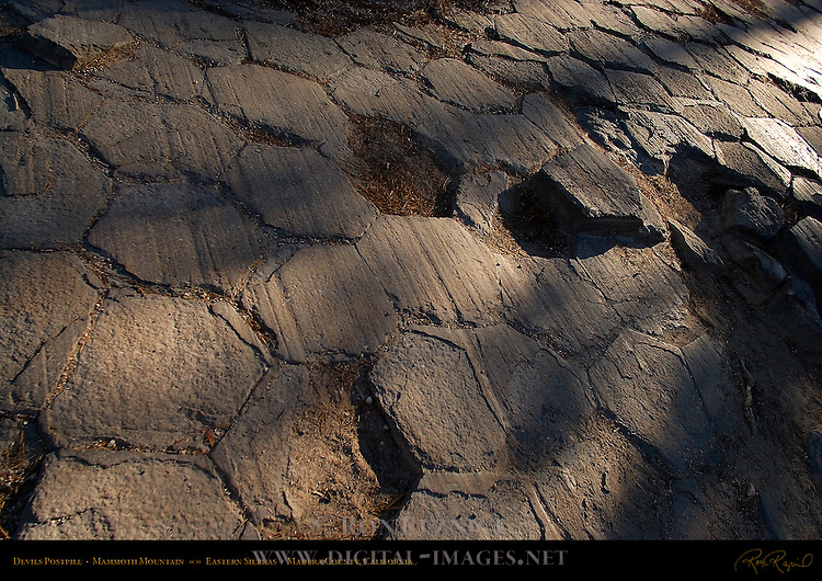 Devils Postpile, Devils Postpile National Monument, Mammoth Mountain, Eastern Sierras, Madera County, California