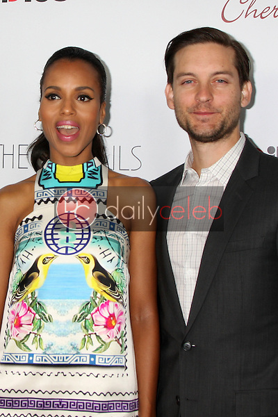 Kerri Washington, Tobey Maguire<br />