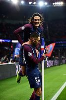 Celebration Esultanza des joueurs du PSG apres le second but de KURZAWA Layvin (PSG) <br /> Parigi 31-10-2017 <br /> Paris Saint Germain - Anderlecht Champions League 2017/2018<br /> Foto Panoramic / Insidefoto