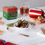 Pictured: THE CBD Christmas pudding.<br /> <br /> A controversial new CBD-infused Christmas pudding is advertised as the best way to beat festive family stresses this year.  The 100 per cent legal dessert is made with 10mg of Cannabidiol oil, and its makers claim it will de-stress you if the big day becomes fraught.<br /> <br /> Firebox, the retailer behind the unusual treat, says even 'the most conservative relatives' can't object to 'you getting a hit of the calming green stuff' through the handmade pudding.  Apart from the cannabis oil, it is made with all the classic Christmas Pudding ingredients such as fresh vine fruits, sweet currants, sultanas and raisins.  SEE OUR COPY FOR DETAILS.<br /> <br /> Please byline: Firebox/Solent News<br /> <br /> © Firebox/Solent News & Photo Agency<br /> UK +44 (0) 2380 458800