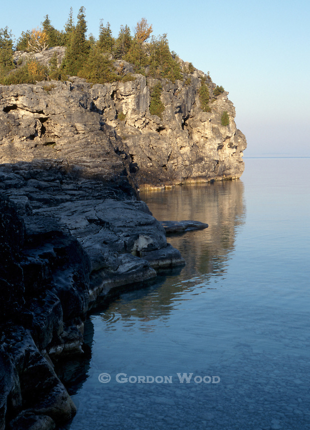 The Grotto Bruce Peninsula National Park at Sunrise