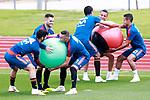 Spain's Marco Asensio, Nacho Fernandez, Iago Aspas, Rodri Hernandez, Rodrigo Moreno and Thiago Alcantara during training session. June 5,2018.(ALTERPHOTOS/Acero)