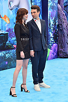 "LOS ANGELES, CA. February 09, 2019: Jay Baruchel & Rebecca Jo at the premiere of ""How To Train Your Dragon: The Hidden World"" at the Regency Village Theatre.<br /> Picture: Paul Smith/Featureflash"