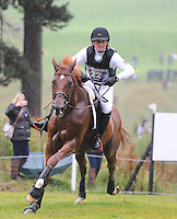 Blair Atholl, Scotland, UK. 12th September, 2015. Longines  FEI European Eventing Championships 2015, Blair Castle. Michael Jung (GER) riding Fischer Takinou during the Cross country phase © Julie Priestley