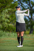 Jimin Kang (USA) watches her tee shot on 12 during round 2 of  the Volunteers of America LPGA Texas Classic, at the Old American Golf Club in The Colony, Texas, USA. 5/6/2018.<br /> Picture: Golffile | Ken Murray<br /> <br /> <br /> All photo usage must carry mandatory copyright credit (&copy; Golffile | Ken Murray)