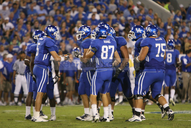 The University of Kentucky Wildcats played the University of Akron at Commonwealth Stadium in Lexington, Ky on Sept. 18, 2010. Photo by Latara Appleby   Staff