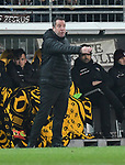 14.02.2020,  GER; 2. FBL, FC St. Pauli vs Dynamo Dresden ,DFL REGULATIONS PROHIBIT ANY USE OF PHOTOGRAPHS AS IMAGE SEQUENCES AND/OR QUASI-VIDEO, im Bild Trainer Markus Kauczinski (Dresden Foto © nordphoto / Witke *** Local Caption ***