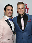Christopher Gattelli and Stephen Bienskie attend the Broadway Opening Night Performance of 'War Paint' at the Nederlander Theatre on April 6, 2017 in New York City
