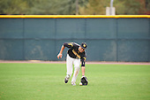 Sean Robinson (17) of Novato High School in Novato, California during the Under Armour All-American Pre-Season Tournament presented by Baseball Factory on January 15, 2017 at Sloan Park in Mesa, Arizona.  (Zac Lucy/Mike Janes Photography)
