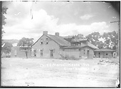 Lucien Maxwell House built in 1864 in Cimarron, NM.<br /> Cimarron, NM  Taken by Troutman, Edward A. - ca 1909-1913