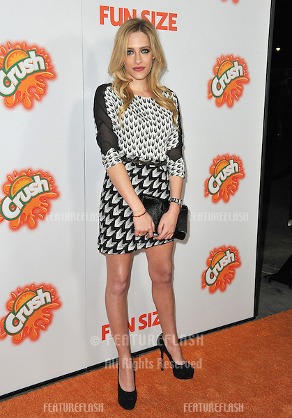 """Carly Chaikin at the Los Angeles premiere of """"Fun Size"""" at the Paramount Theatre, Hollywood..October 25, 2012  Los Angeles, CA.Picture: Paul Smith / Featureflash"""