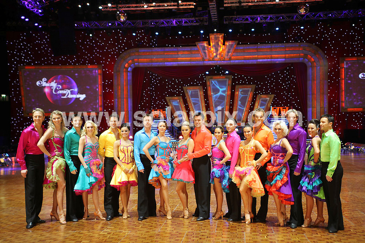 **ALL ROUND PICTURES FROM SOLARPIX.COM**.**WORLDWIDE SYNDICATION RIGHTS**.This year's winner Tom Chambers and other celebrities at a photo call ahead of the Strictly Come Dancing Live Tour 2009. LG Arena, Birmingham, UK. 17 February 2009..This pic: Strictly Come Dancing Live cast..JOB REF: 8485 NYA     DATE: 17_02_2009.**MUST CREDIT SOLARPIX.COM OR DOUBLE FEE WILL BE CHARGED**.**ONLINE USAGE FEE  GBP 50.00 PER PICTURE - NOTIFICATION OF USAGE TO PHOTO @ SOLARPIX.COM**