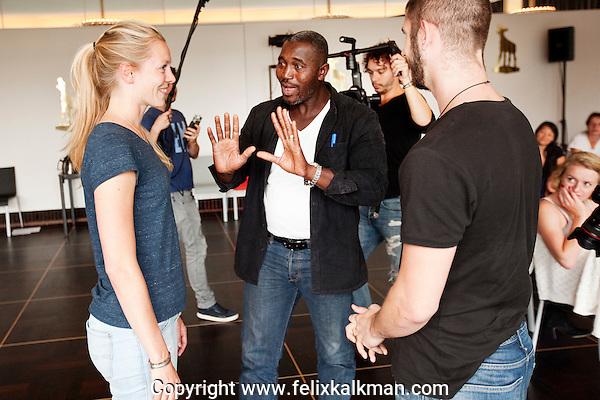 Utrecht, 25 september 2016<br /> Nederlands Film Festival 2016<br /> Masterclass Issaka Sawadogo<br /> Hekmanfoyer SSU<br /> Foto Felix Kalkman
