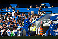 Chelsea manager Antonio Conte looks on<br /> <br /> Photographer Craig Mercer/CameraSport<br /> <br /> The Premier League - Chelsea v Burnley - Saturday August 12th 2017 - Stamford Bridge - London<br /> <br /> World Copyright &copy; 2017 CameraSport. All rights reserved. 43 Linden Ave. Countesthorpe. Leicester. England. LE8 5PG - Tel: +44 (0) 116 277 4147 - admin@camerasport.com - www.camerasport.com