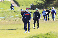 Richard McEvoy (ENG) on the 4th fairway during Round 4 of the Betfred British Masters 2019 at Hillside Golf Club, Southport, Lancashire, England. 12/05/19<br /> <br /> Picture: Thos Caffrey / Golffile<br /> <br /> All photos usage must carry mandatory copyright credit (© Golffile | Thos Caffrey)
