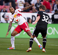 Washington, DC - April 12, 2014: D.C. United defeated the New York Red Bulls 1-0 during their Major League Soccer (MLS) match at RFK Stadium.