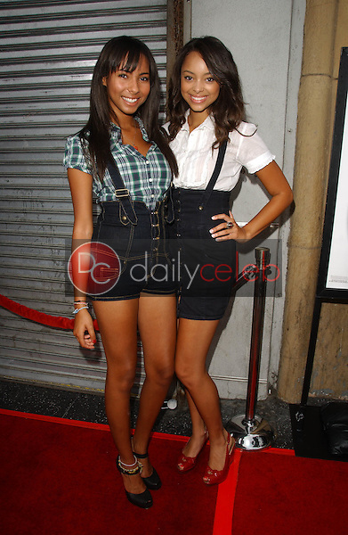 Chyna Stevens and Amber Stevens<br />