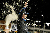 #16: Brett Moffitt, Hattori Racing Enterprises, Toyota Tundra AISIN Group celebrates in victory lane