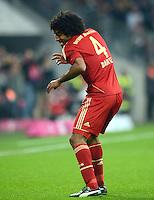 FUSSBALL   1. BUNDESLIGA  SAISON 2012/2013   13. Spieltag FC Bayern Muenchen - Hannover 96     24.11.2012 Jubeltanz nach dem Tor zum 4:0 durch Dante (FC Bayern Muenchen)
