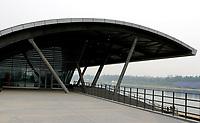 Shunyi Rowing-Canoeing Park. Olympic Venues<br /> Olimpiadi Pechino 2008. Impianto Giochi Olimpici<br /> Foto Cspa/Insidefoto