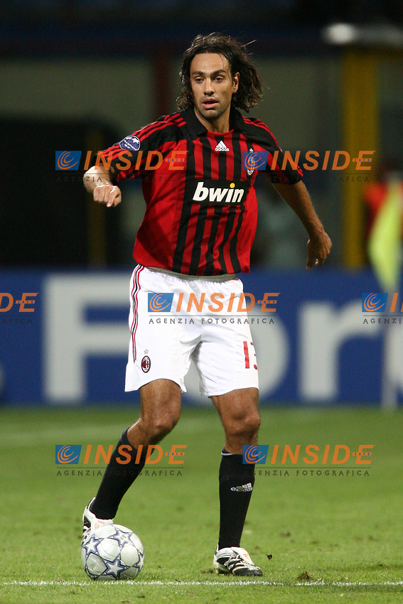 Milano 18/9/2007 Champions League <br /> Group D - Matchday 1 - Milan Benfica 2-0<br /> Alessandro Nesta Milan<br /> Foto Andrea Staccioli Insidefoto