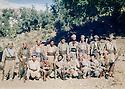 Iraq 1986  <br /> In a valley of Matin mountains, peshmergas in charge of monitoring military activities   <br /> Irak 1986 <br /> Dans une vallee de la chaine de Matin, des peshmergas charg&eacute;s de surveiller des activit&eacute;s militaires