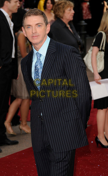 "MICHAEL PATRICK KING.Arrivals at the ""Sex And The City: The Movie"" World Premiere, Odeon Leicester Square, London, England, UK, .May 12th 2008. .SATC half length blue tie suit jacket pinstripe .CAP/CAN.©Can Nguyen/Capital Pictures"