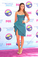 UNIVERSAL CITY, CA - JULY 22: Nina Dobrev at the 2012 Teen Choice Awards at Gibson Amphitheatre on July 22, 2012 in Universal City, California. &copy; mpi28/MediaPunch Inc. /NortePhoto.com*<br />