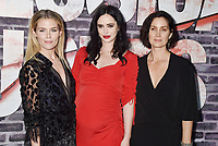 "HOLLYWOOD, CA - MAY 28: (L-R) Rachael Taylor, Krysten Ritter and Carrie-Anne Moss attend a Special Screening Of Netflix's ""Jessica Jones"" Season 3 at ArcLight Hollywood on May 28, 2019 in Hollywood, California.<br /> CAP/ROT/TM<br /> ©TM/ROT/Capital Pictures"