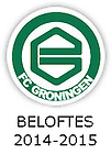 BELOFTES 2014 - 2015