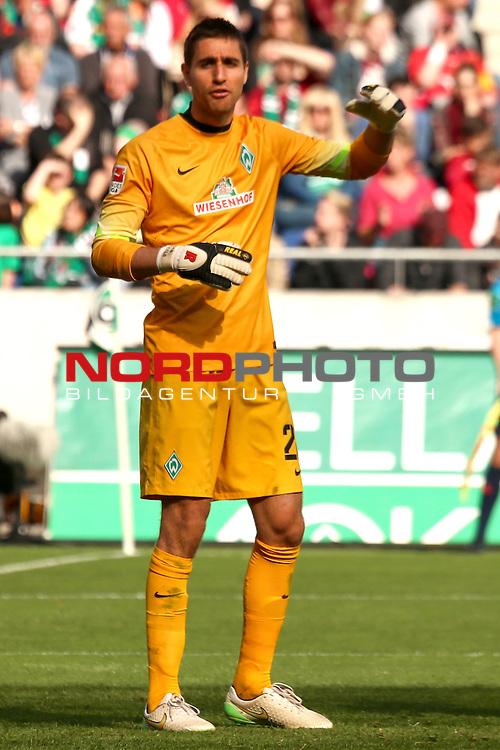 09.05.2015, HDI Arena, Hannover, GER, 1.FBL, Hannover 96 vs SV Werder Bremen im Bild <br /> <br /> Koen Casteels (Bremen #20)<br /> <br /> Foto &copy; nordphoto / Rust