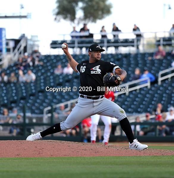 Jose Ruiz - Chicago White Sox 2020 spring training (Bill Mitchell)