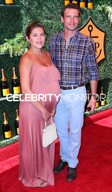 PACIFIC PALISADES, CA, USA - OCTOBER 11: Marika Dominczyk, Scott Foley arrive at the 5th Annual Veuve Clicquot Polo Classic held at Will Rogers State Historic Park on October 11, 2014 in Pacific Palisades, California, United States. (Photo by Xavier Collin/Celebrity Monitor)