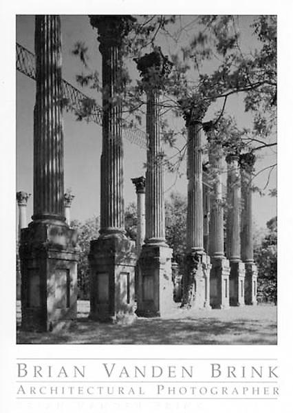 CORINTHIAN COLUMNS<br /> Windsor Ruins<br /> Circa 1859<br /> Port Gibson, Mississippi &copy; Brian Vanden Brink, 2004