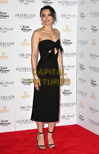 Samantha Barks. Premiere of 'Interlude in Prague', a drama following the turbulent months when composer Wolfgang Amadeus was brought to Prague by Baron Saloka, held at Odeon cinema, Leicester Square, London, UK, May 11th 2017.<br /> CAP/JOR<br /> &copy;JOR/Capital Pictures