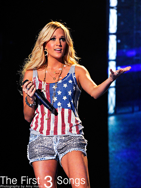Carrie Underwood performs at LP Field during the 2012 CMA Music Festival on June 08, 2011 in Nashville, Tennessee.