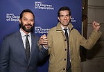 Nick Kroll and John Mulaney attends the Opening Night Performance of 'Six Degrees Of Separation' at the Barrymore Theatre on April 25, 2017 in New York City.