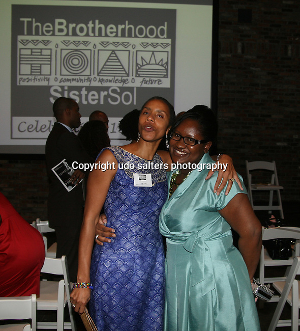BHSS Program & Professional Development Coordinator Dr. Susan Wilcox and guest attend The Brotherhood/Sister So's Annual Benefit Honoring Professor Charles Olgletree, Esmerelda Santiago, and Harry Belafonte Hosted by Roland Martin at Cedar Lake, New York May 6, 2010