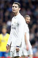 Real Madrid's Cristiano Ronaldo (l) and Karim Benzema during La Liga match. March 1,2017. (ALTERPHOTOS/Acero) /NORTEPHOTOmex